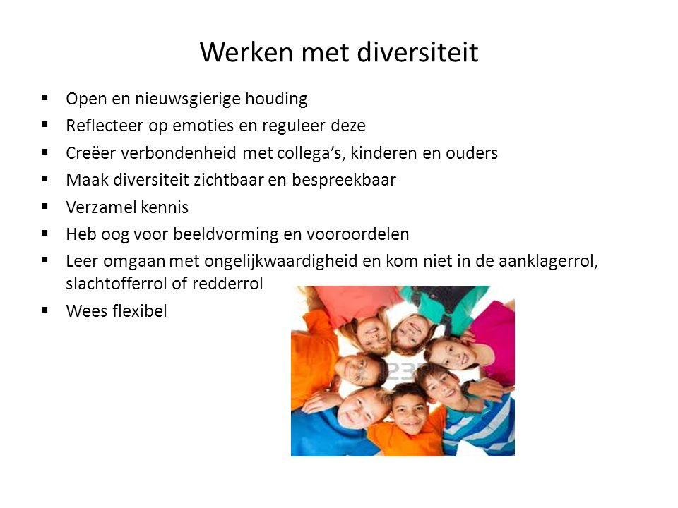 Werken met diversiteit