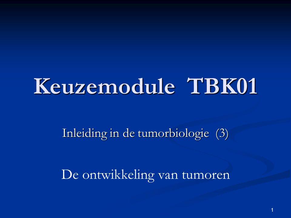 Inleiding in de tumorbiologie (3)