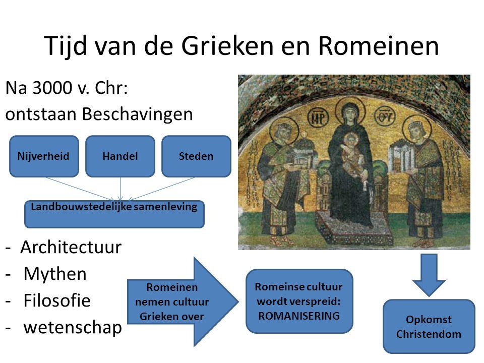 Tijd van de Grieken en Romeinen