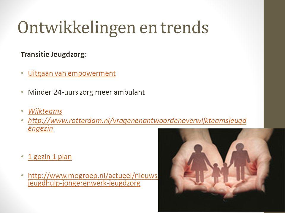 Ontwikkelingen en trends