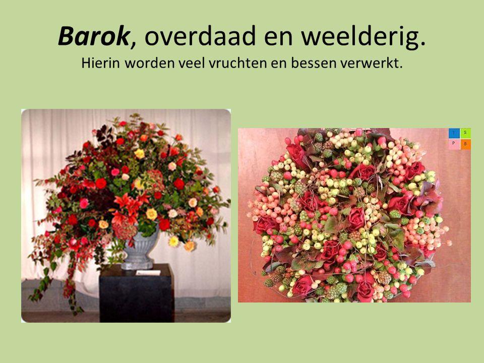 Barok, overdaad en weelderig