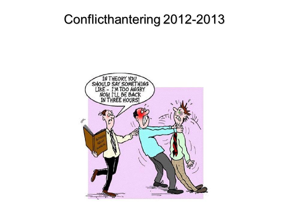 Conflicthantering 2012-2013