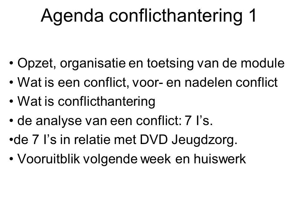 Agenda conflicthantering 1