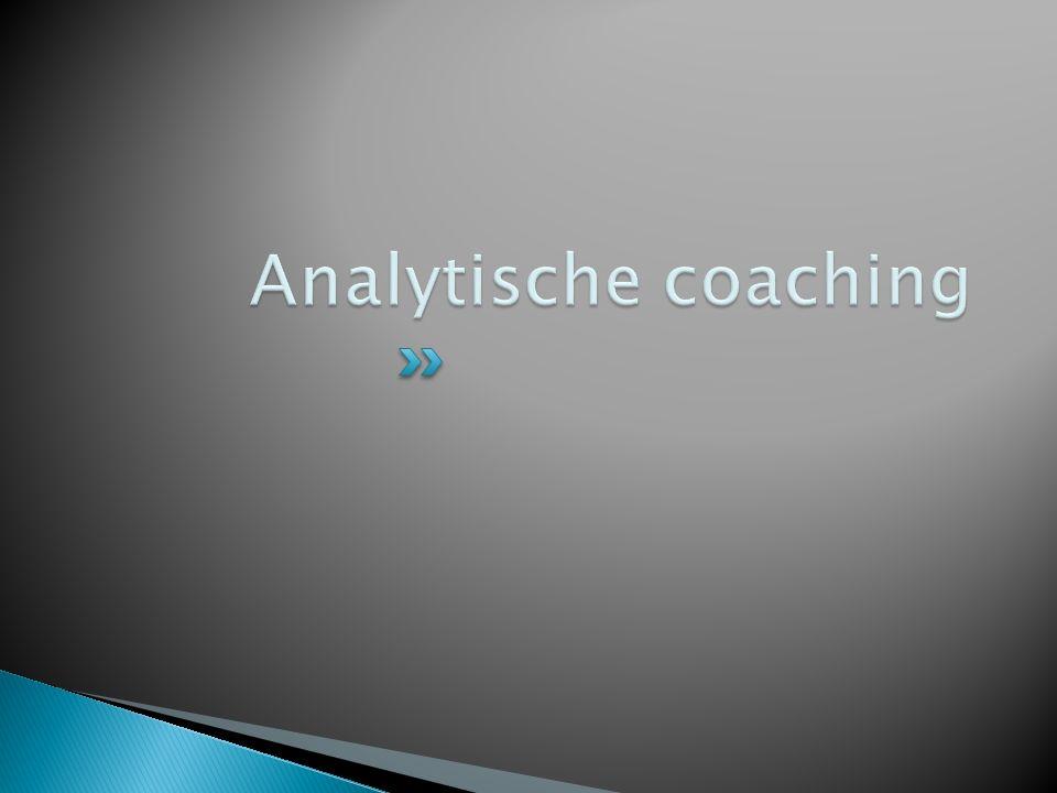 Analytische coaching