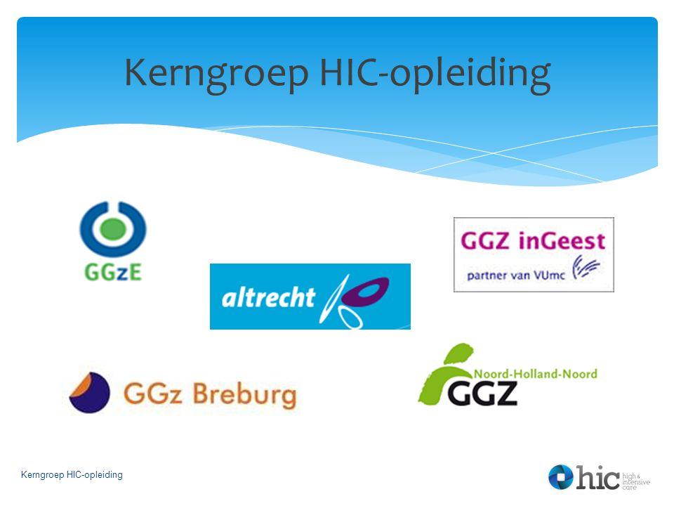 Kerngroep HIC-opleiding