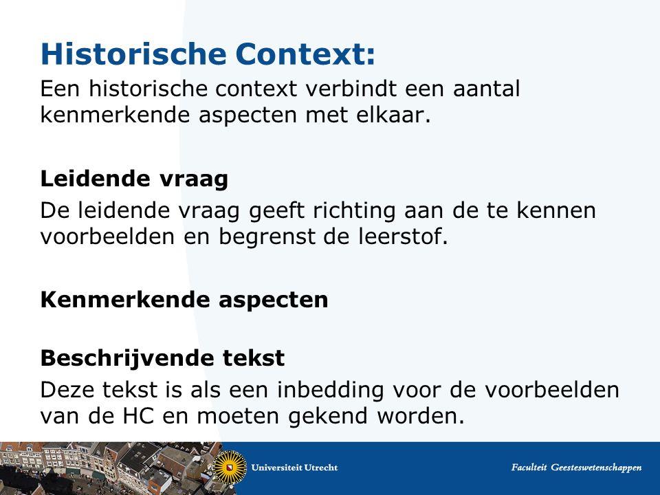 Historische Context: