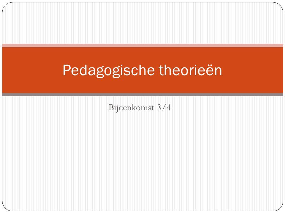 Pedagogische theorieën