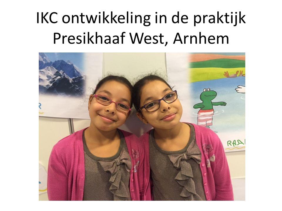 IKC ontwikkeling in de praktijk Presikhaaf West, Arnhem