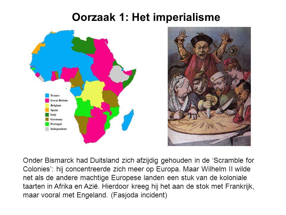Oorzaak 1: Het imperialisme