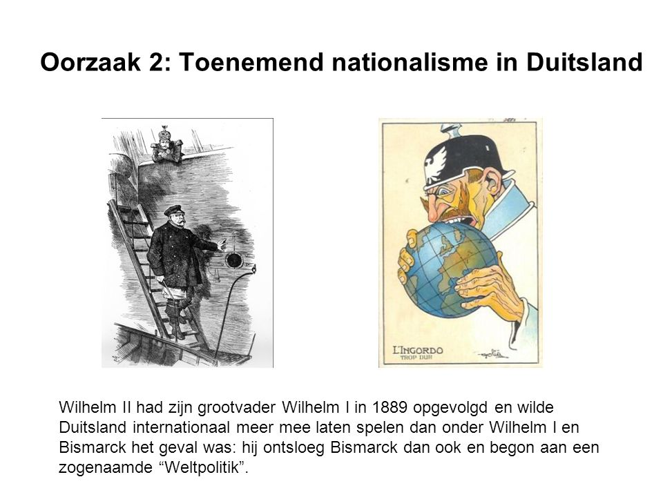 Oorzaak 2: Toenemend nationalisme in Duitsland