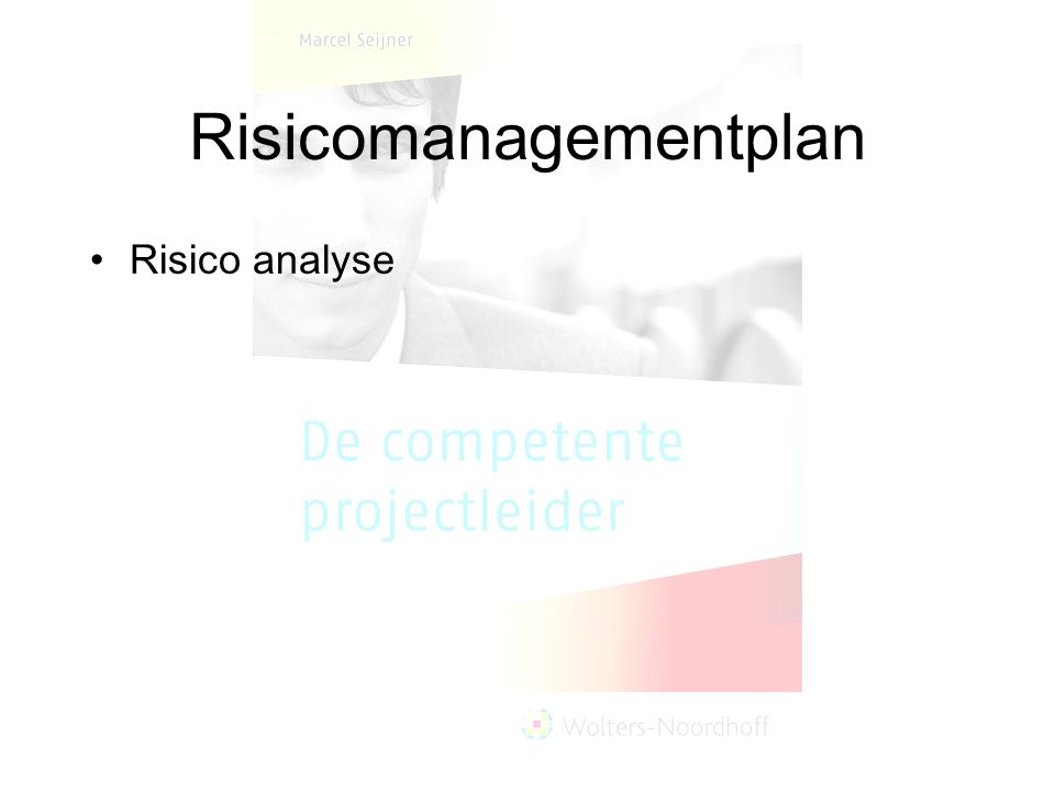 Risicomanagementplan