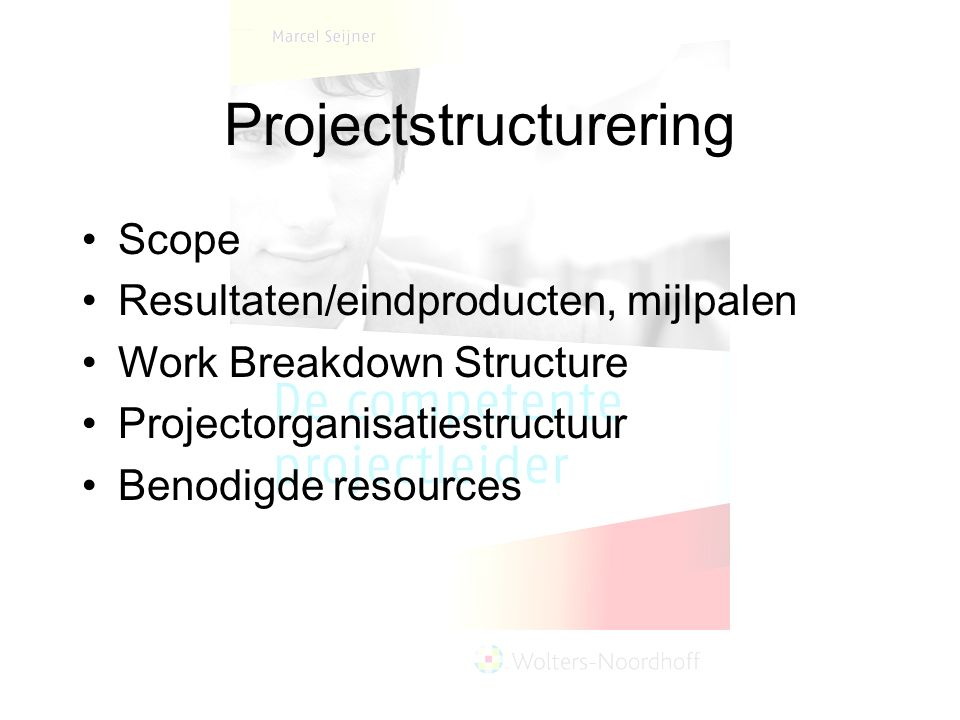 Projectstructurering