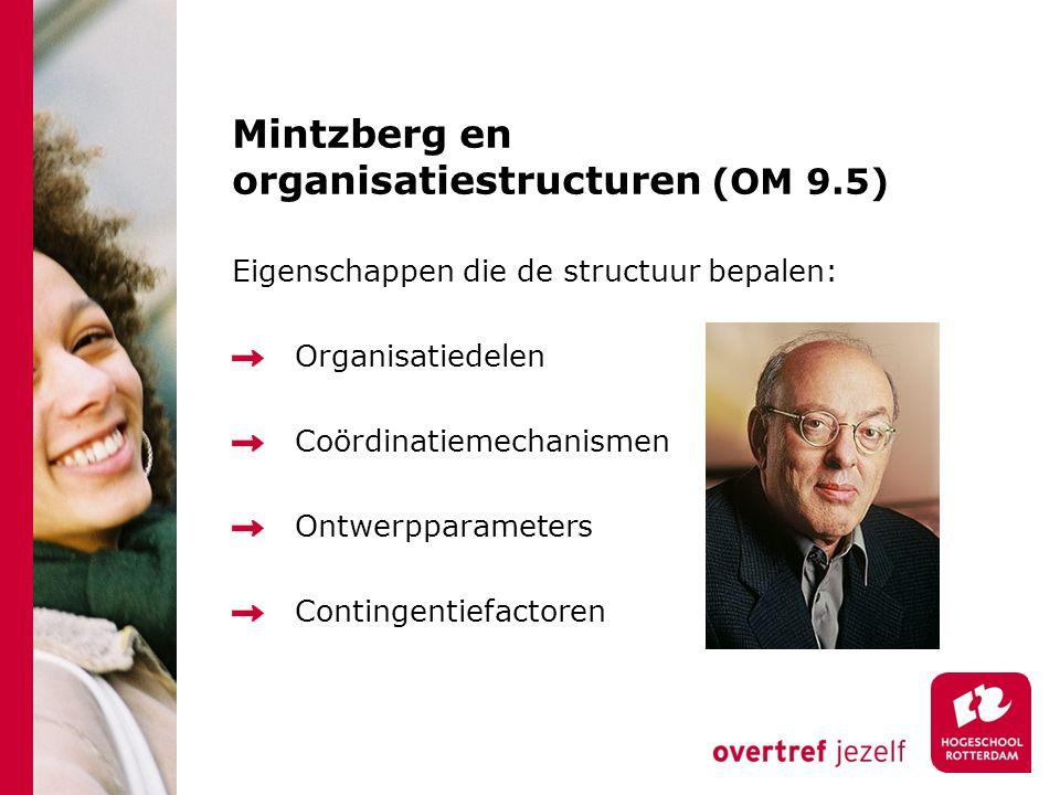 Mintzberg en organisatiestructuren (OM 9.5)