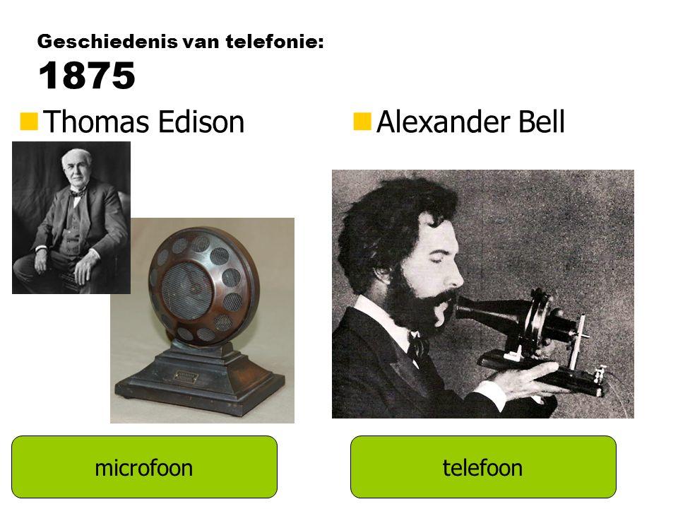 Geschiedenis van telefonie: 1875