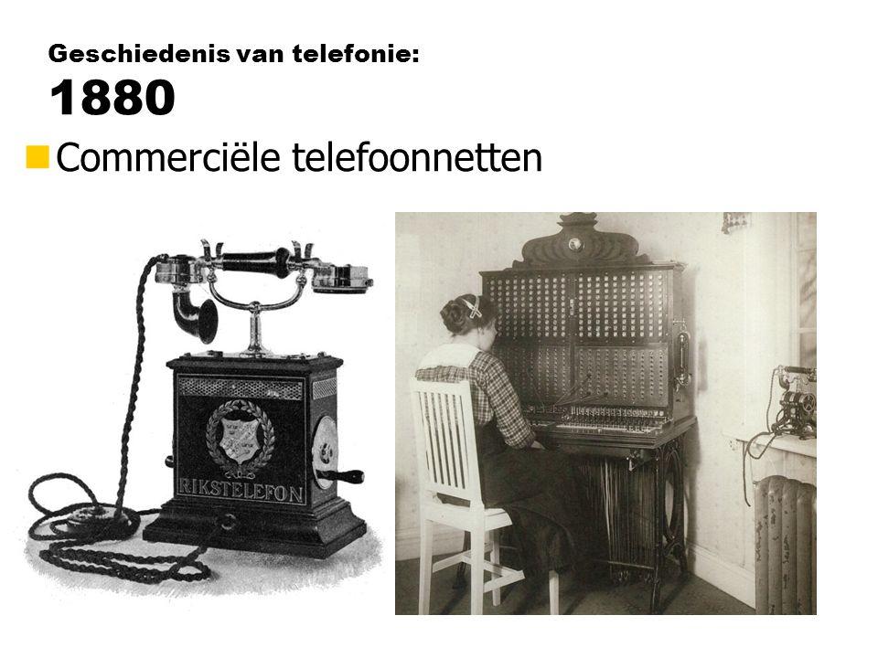 Geschiedenis van telefonie: 1880
