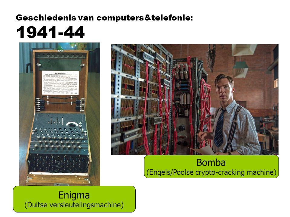 Geschiedenis van computers&telefonie: 1941-44