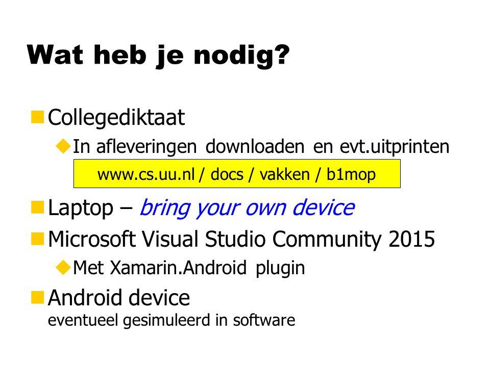 www.cs.uu.nl / docs / vakken / b1mop