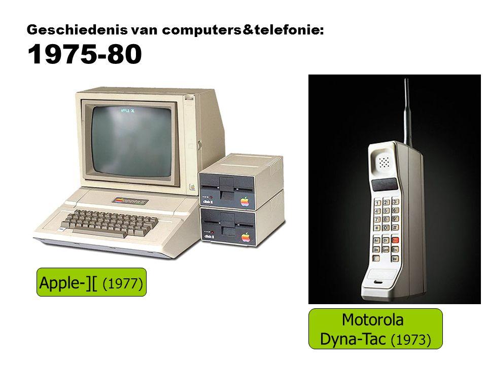 Geschiedenis van computers&telefonie: 1975-80
