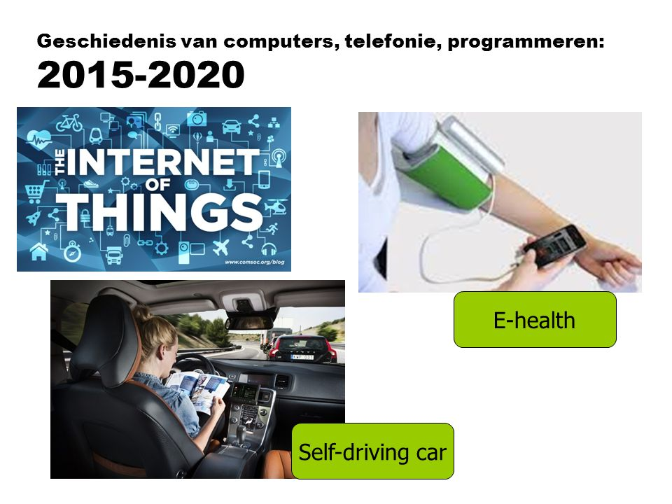 Geschiedenis van computers, telefonie, programmeren: 2015-2020