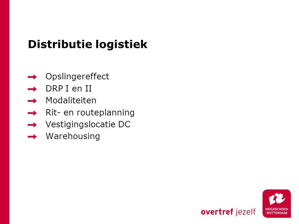 Distributie logistiek