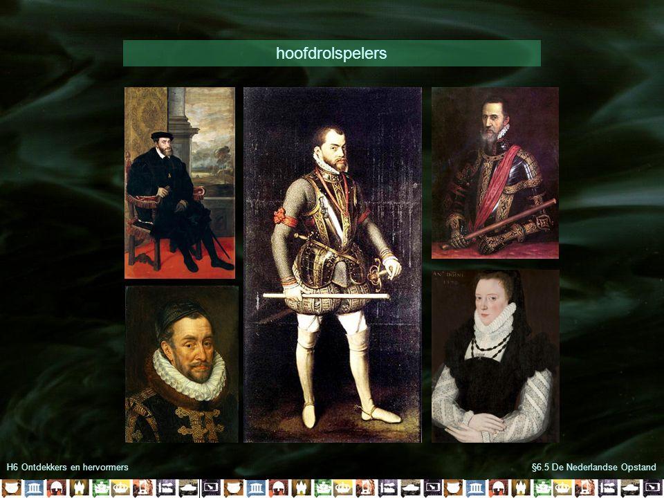 hoofdrolspelers H6 Ontdekkers en hervormers