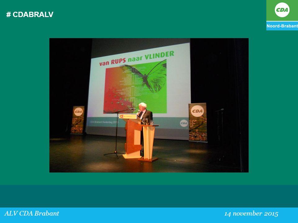 # CDABRALV ALV CDA Brabant 14 november 2015