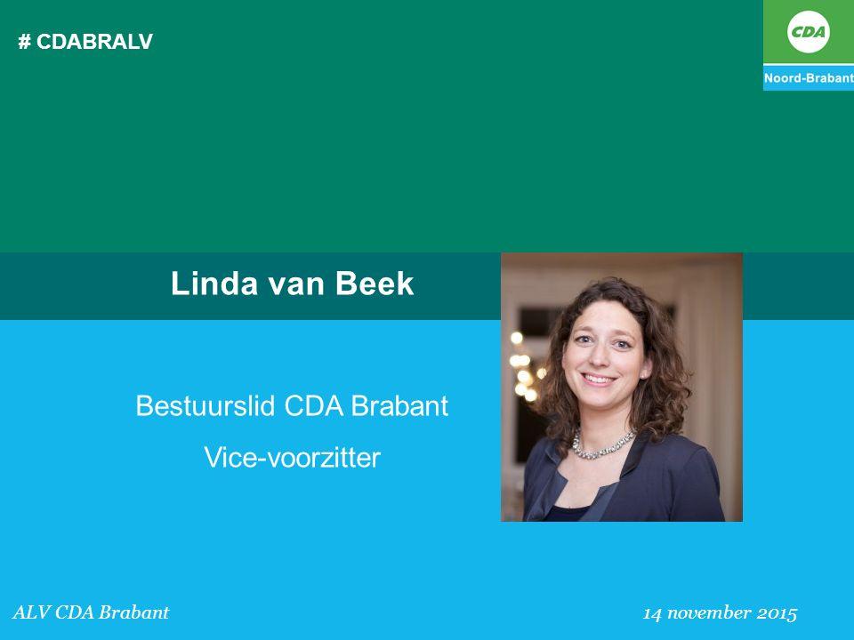 Bestuurslid CDA Brabant