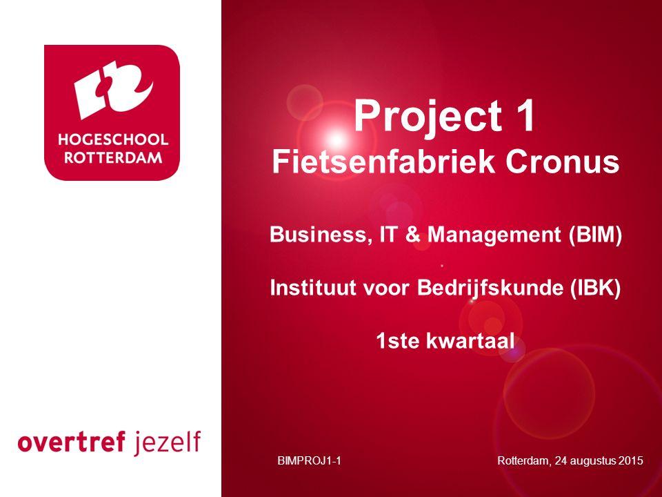 Project 1 Presentatie titel