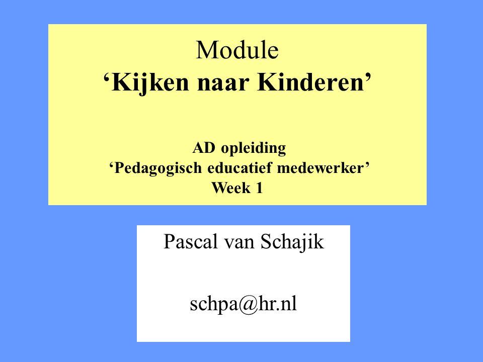 Pascal van Schajik schpa@hr.nl