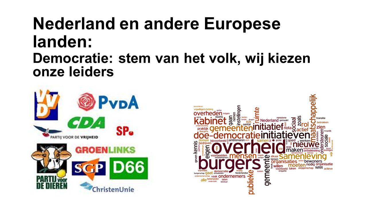 Nederland en andere Europese landen: