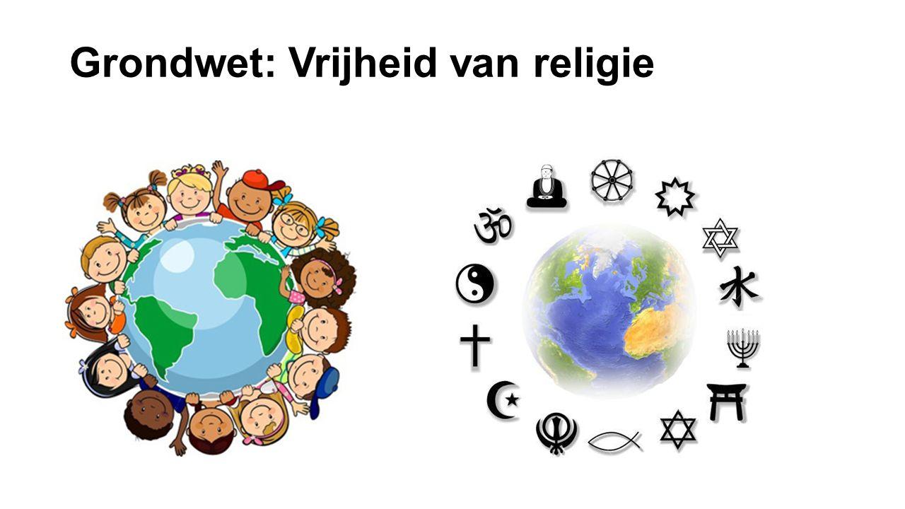 Grondwet: Vrijheid van religie
