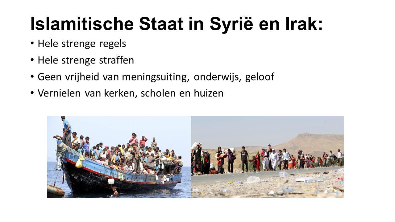 Islamitische Staat in Syrië en Irak: