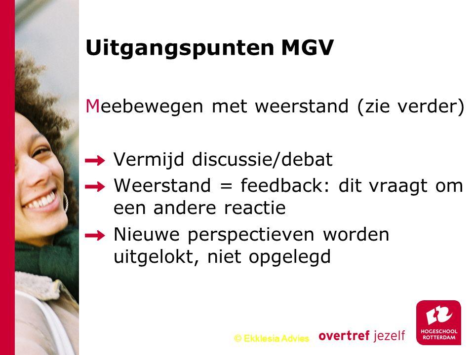 Uitgangspunten MGV Meebewegen met weerstand (zie verder)