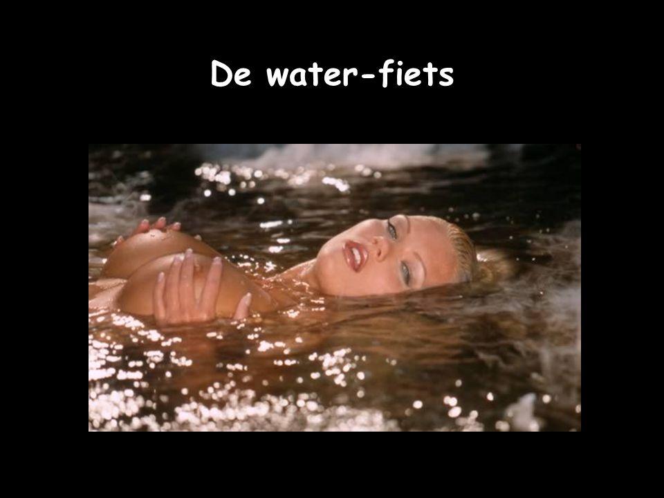 De water-fiets