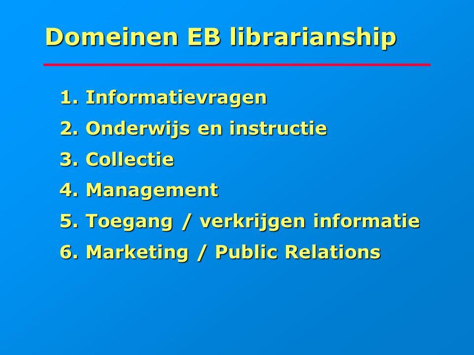 Domeinen EB librarianship