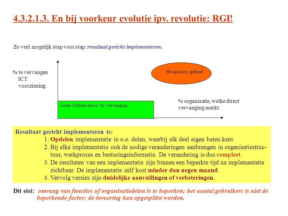 4.3.2.1.3. En bij voorkeur evolutie ipv. revolutie: RGI!