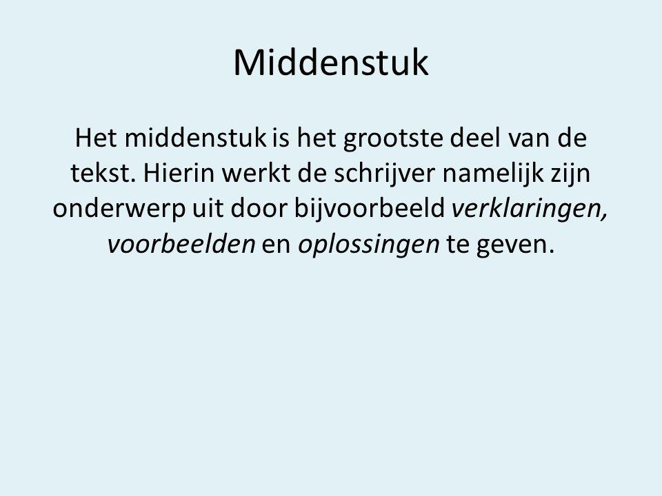 Middenstuk