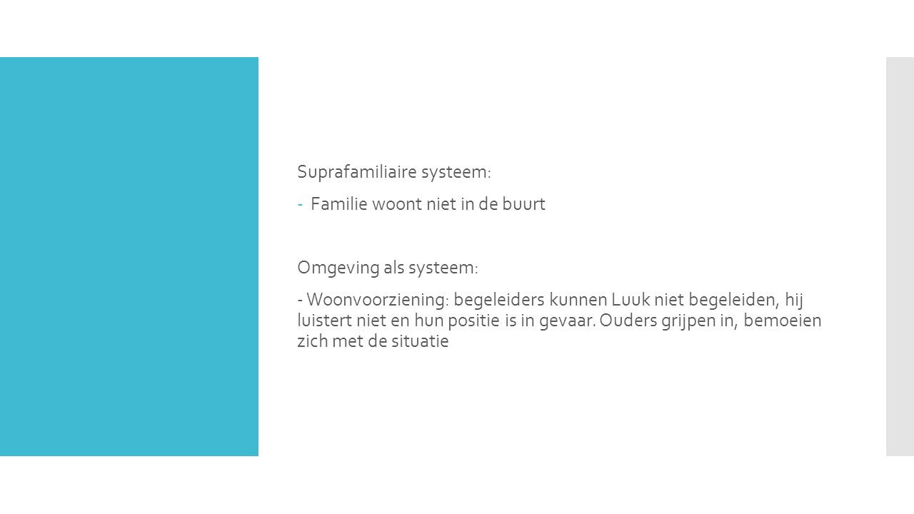 Suprafamiliaire systeem:
