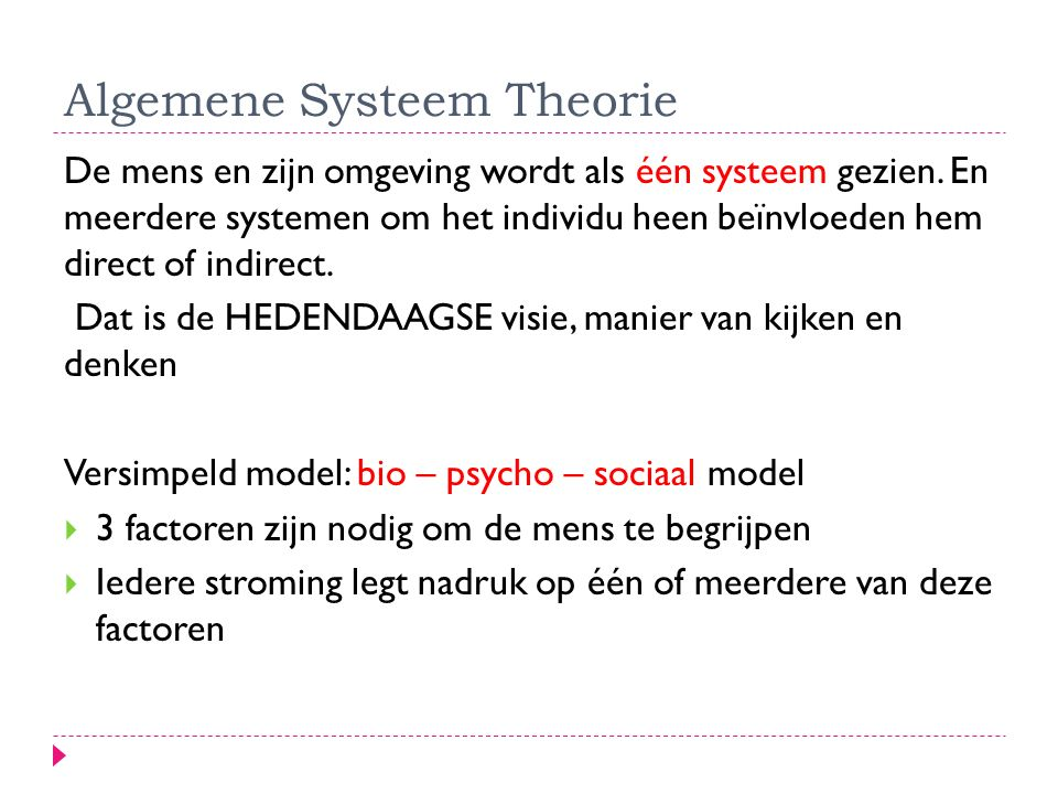 Algemene Systeem Theorie