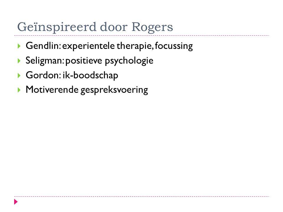 Geïnspireerd door Rogers