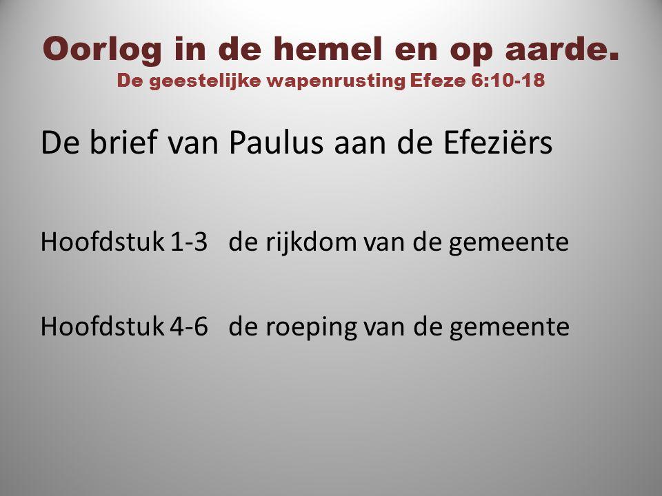 De brief van Paulus aan de Efeziërs