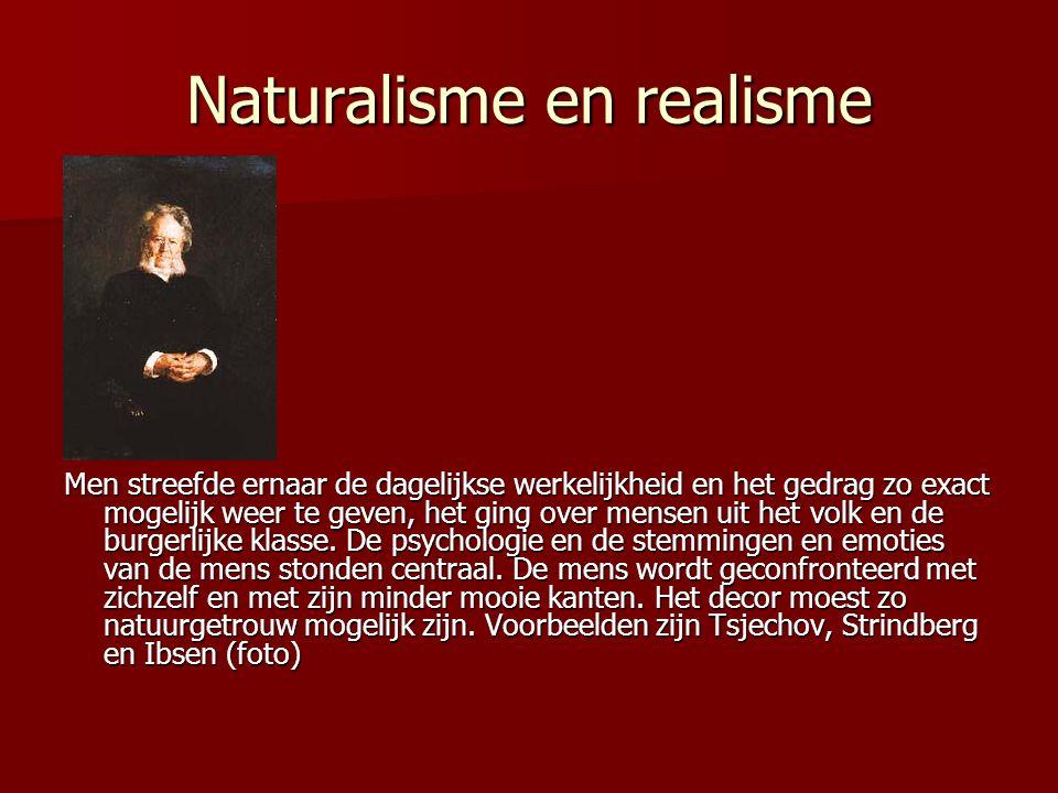Naturalisme en realisme