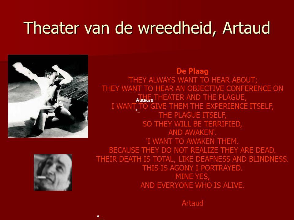 Theater van de wreedheid, Artaud