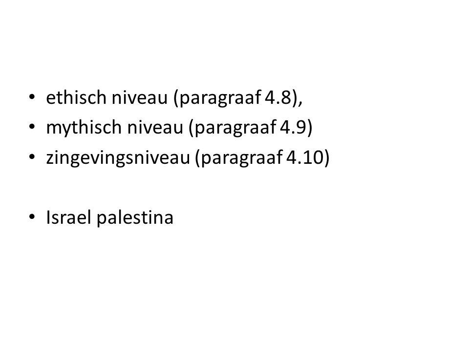 ethisch niveau (paragraaf 4.8),