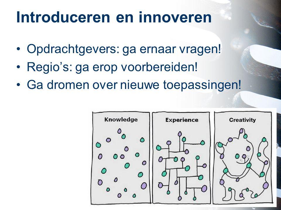Introduceren en innoveren