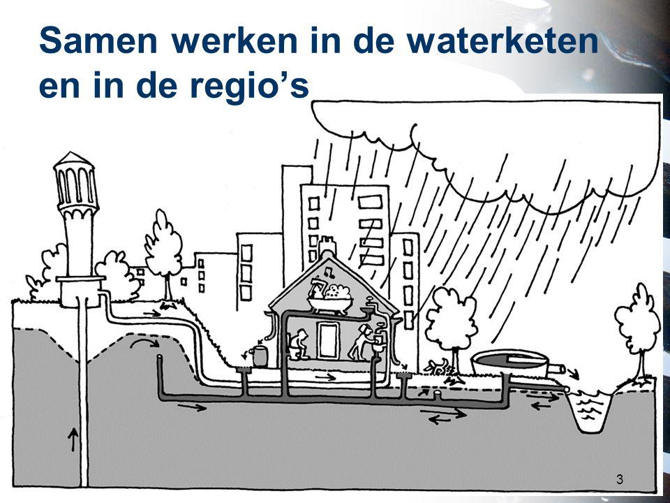 Samen werken in de waterketen en in de regio's