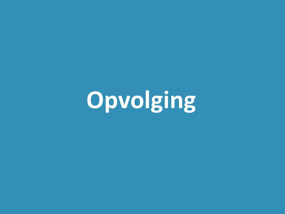 Opvolging