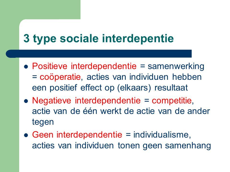 3 type sociale interdepentie