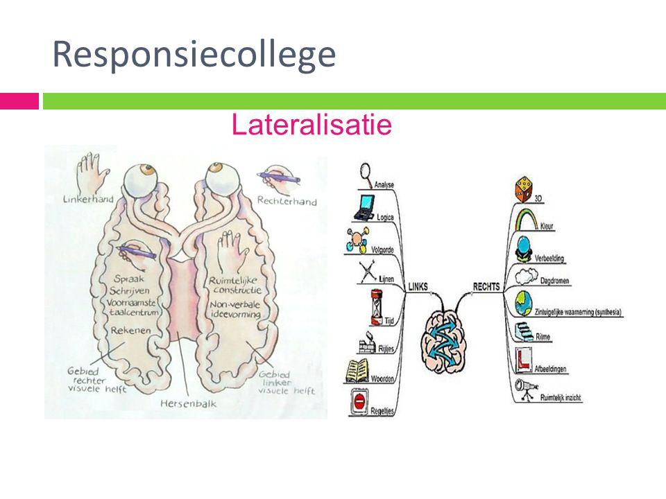 Responsiecollege Lateralisatie