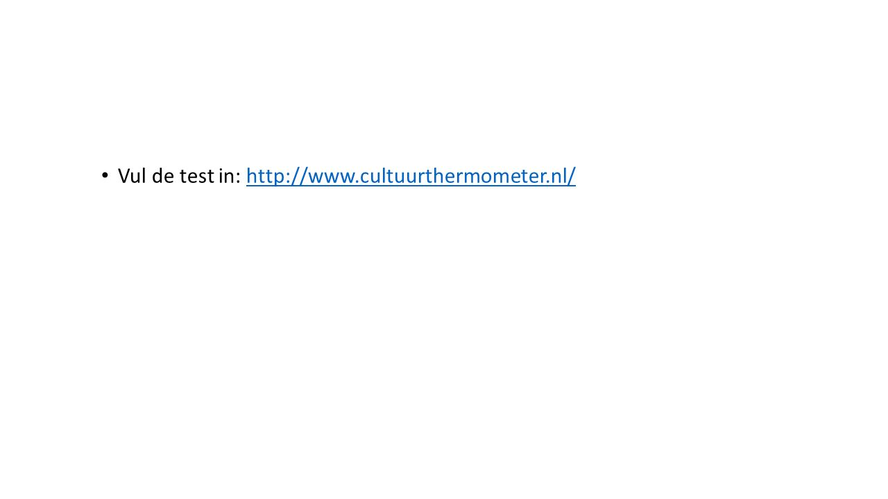 Vul de test in: http://www.cultuurthermometer.nl/